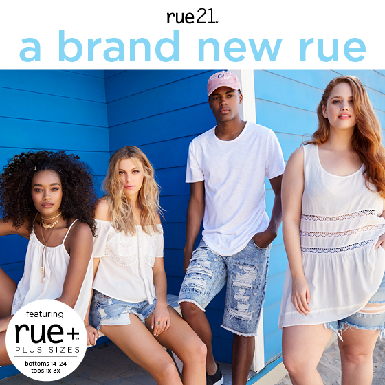 rue21: Now Featuring rue+